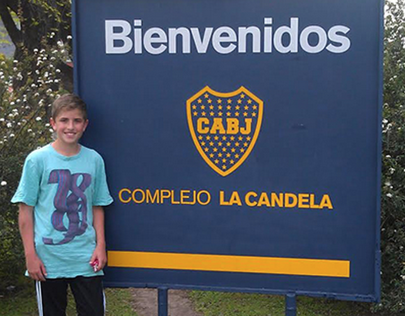 Ryan Gains a Spot in Boca Juniors!