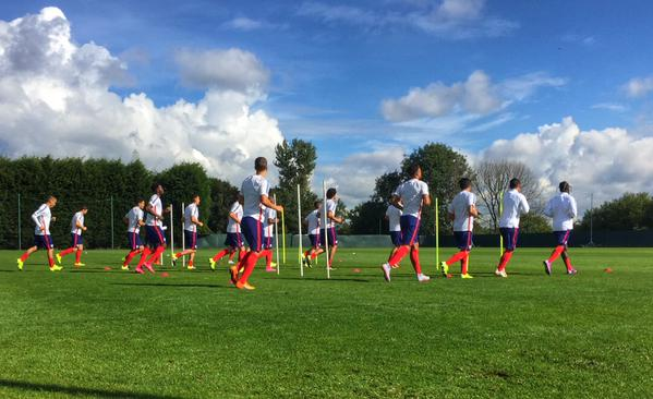 Benji and the U-23 MNT Ready to Clash with England in Preston
