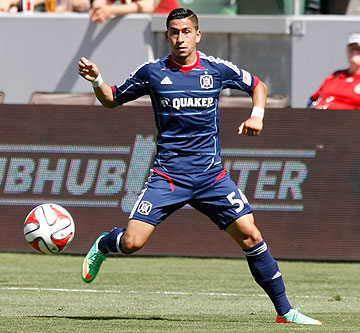 Benji Joya speaks about first goal for Chicago Fire in win over D.C. United
