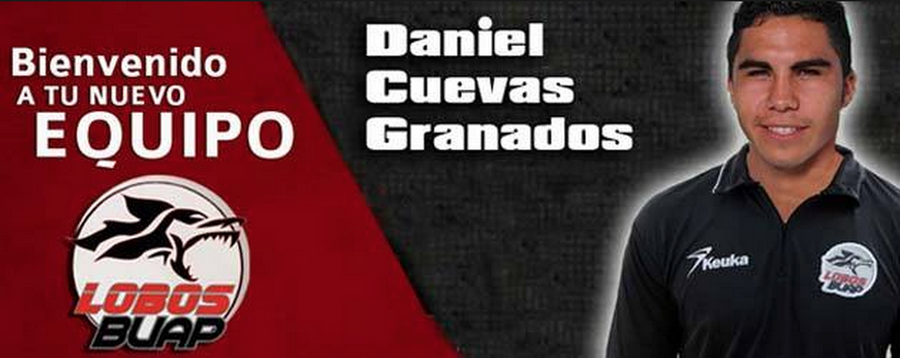 Dani Joins New Team; Lobos de BUap welcome their new player