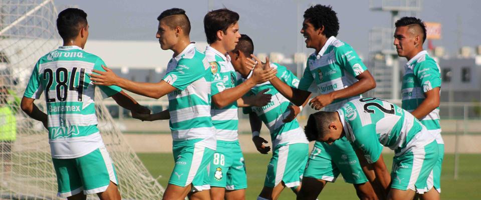 Herbert Robinson Scores for U20 Santos Laguna