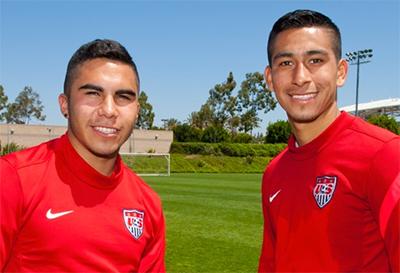 Benji Joya and Dani Cuevas back in club action